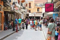 Crete - Rethymno Stock Images