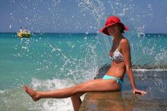 crete semester Arkivbilder