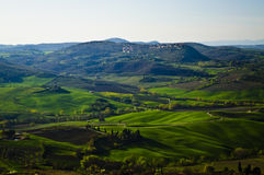 Crete senesi Stock Photography