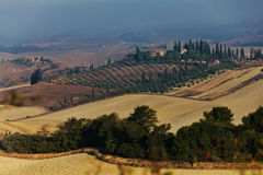 Crete Senesi Landscape Royalty Free Stock Images