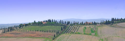 Crete senesi, Tuscany Royalty Free Stock Images