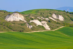 Crete Senesi - Tuscan Landscape Royalty Free Stock Photography