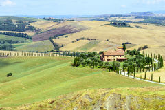 Crete Senesi (Tuscany, Italy) Royalty Free Stock Photo