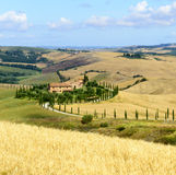 Crete Senesi (Tuscany, Italy) Royalty Free Stock Photography