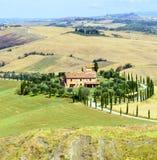 Crete Senesi (Tuscany, Italy) Stock Photography