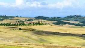Crete Senesi (Tuscany, Italy) Stock Photos