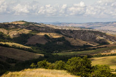 Crete Senesi, Tuscany Royalty Free Stock Photography