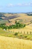 Crete Senesi Tuscany, Włochy (,) obraz royalty free