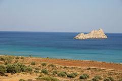 Crete / Southcoast. The southcoast of crete / Greece Stock Image
