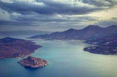 crete spinalonga Royaltyfri Foto