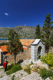 crete spinalonga Royaltyfri Fotografi