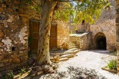crete spinalonga Arkivbilder
