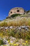 crete spinalonga Royaltyfria Bilder