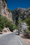 Crete Theriso gorge Stock Photo