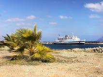 Crete Travel, Attraction, Cruises Royalty Free Stock Photo