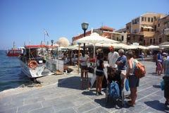 crete turism Arkivbilder