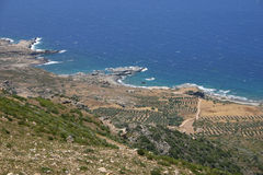 Crete / Westcoast. The westcoast of Crete / Greece Stock Photography