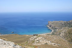 Crete / Westcoast. The westcoast of Crete / Greece Stock Photo