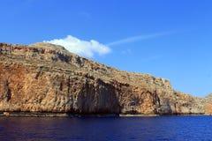crete Widok wyspy Morze Zdjęcia Royalty Free