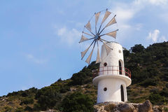 Crete windmill Stock Images