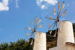 Crete windmill Stock Image