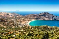 Crete wyspa w lecie Zdjęcie Royalty Free