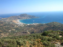 Cretes beautifull shore Stock Images