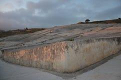 Cretto di Burri, ruinas del terremoto transformadas en un arte del od del trabajo Foto de archivo