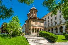 Cretulescu Church,landmark of Bucharest Stock Photo