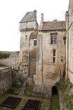 creully城堡中世纪的法国 库存照片
