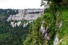 Creux du Van canyon Stock Photography