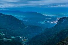 Creux du Van, Neuchatel, die Schweiz Lizenzfreie Stockfotografie