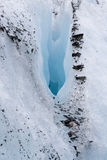 Crevasse Stock Photography