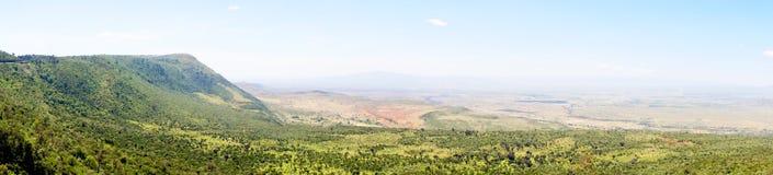 Crevasse africaine, Kenya image libre de droits