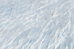 Crevasse do fluxo do gelo Imagens de Stock Royalty Free