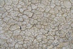 Crevasse sur la terre Photo stock