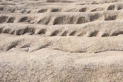 Crevasses сброса района неорошаемого земледелия Стоковая Фотография RF