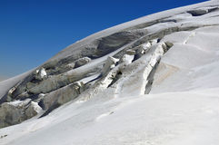 Crevasses Stock Image