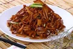 Crevette asiatique de nourriture de friture Images stock