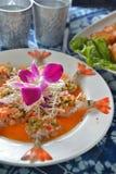 Crevette assortie d'Ama-ebi de sashimi Photos libres de droits