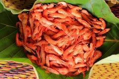 Crevette bouillie Photos libres de droits