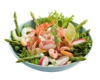 crevette de salade Photo libre de droits