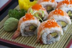 Crevette de sushi Photo stock