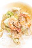 Crevette frite Images stock