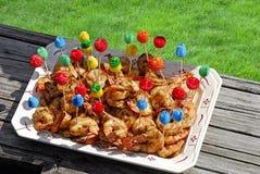 Crevette grillée Image libre de droits