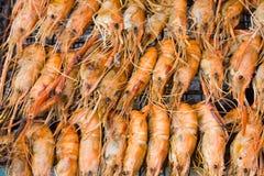 Crevette grillée image stock