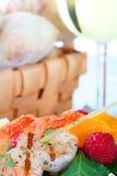 Crevette grillée Photo libre de droits