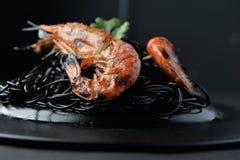 Crevette grillée Images stock