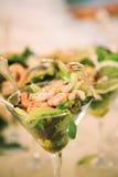 Crevette pour l'apéritif photos libres de droits