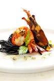 Crevette rose grillée Images stock